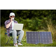 AlzaPower MAX-E 100W černá - Solární panel