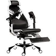ANTARES Genidia Gaming bílá - Herní židle