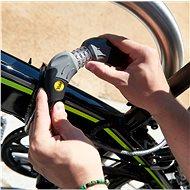 YALE cyklozámek kódový 1800mm - Zámek na kolo