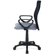 AUTRONIC Lucero šedá - Kancelářská židle