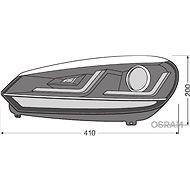 OSRAM LEDriving XENARC Edice Golf VI Chrome 2ks - Přední světlomet