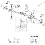 Koncovka alu profilu nosiče kol Thule ProRide 591 (34369) - Koncovka
