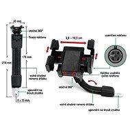 COMPASS Držák telefonu / GPS na MOTO - Držák na mobilní telefon