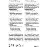 COMPASS Tester autobaterie a alternátoru 12V - Tester autobaterie