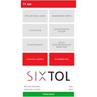 """Sixtol SX1003 SX1 Autodiagnostika bluetooth - Android, Windows (Aplikace """"SX OBD"""" zdarma ke stažení) - Diagnostika"""