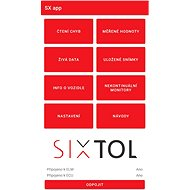 SIXTOL Autodiagnostika SC1 WiFi, IOS, Android (zdarma SX OBD aplikace) - Diagnostika