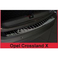 AVISA Kryt prahu zadních dveří Opel Crossland X, - černý grafit lesklý - Kryt prahu