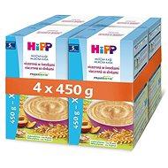 HiPP PRAEBIOTIK vícezrnná se švestkami 4× 450 g - Mléčná kaše