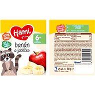 Hami Banán a jablíčko 6× 90 g - Příkrm