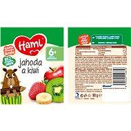 Hami Jahoda a kiwi 6× 90 g - Příkrm