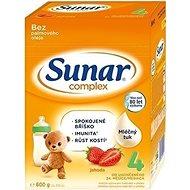 Sunar Complex 4 jahoda 6× 600 g - Kojenecké mléko