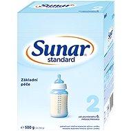Sunar Standard 2 Pokračovací kojenecké mléko 8× 500 g - Kojenecké mléko