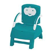THERMOBABY Skládací židlička Deep Peacock - Jídelní židlička