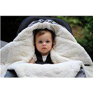 7AM Enfant NIDO Heather Grey 0–6m - Fusak do kočárku