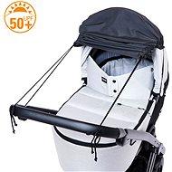 DIAGO Sluneční clona na kočárek s boční ochranou - Sluneční clona na kočárek
