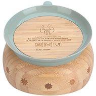 Lässig  Bowl Bamboo Wood Little Chums cat - Dětská miska