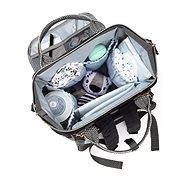 BabyOno Oslo Style modrá + podložka - Přebalovací taška