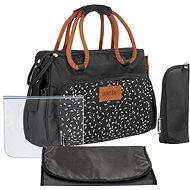 BADABULLE Přebalovací taška BOHO černá - Přebalovací taška