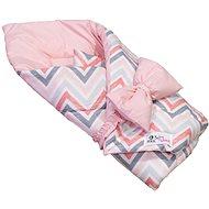 BabyTýpka Sada S  Chevron pink - Startovací sada pro miminko