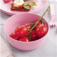 REER Miska růžová 2 ks - Dětská miska
