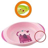 Chicco jídelní set talíř a miska, 12 m+, dívka - Dětská jídelní sada