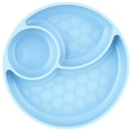 Chicco silikonový talíř modrozelená 12 m+ - Talíř