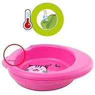 Chicco talíř Warmy, 6 m+, růžový - Talíř