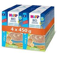 HiPP BIO Mléčná kaše na dobrou noc s banánem a suchary - 4× 450 g - Mléčná kaše
