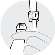 MEDELA Kojící podprsenka bílá, vel. XL - Kojicí podprsenka