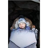 Zopa Zimní fusak Fluffy - šedý - Fusak do kočárku