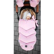 Zopa Zimní fusak Fluffy - růžový - Fusak do kočárku