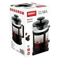 BANQUET Konvice na kávu CLARA 1 l - French press