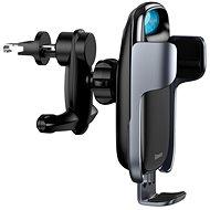 Baseus Milky Way Electric Bracket Wireless Quick Charger 15W Black - Bezdrátová nabíječka
