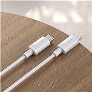 Baseus Premium USB-C / USB-C kabel 100W (20V/5A) 1.5m bílý - Datový kabel