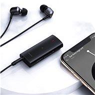 Baseus BA03 Immersive Virtual 3D Bluetooth Receiver Black - Bluetooth adaptér