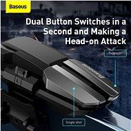 Baseus GAMO Mobile Game automatic combo Button GA09 left hand Black - Gamepad
