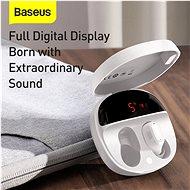 Baseus Encok WM01 Plus White - Bezdrátová sluchátka