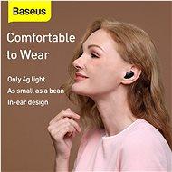 Baseus Encok WM01 Plus Black - Bezdrátová sluchátka
