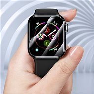 Baseus Full-screen Curved Tempered Glass Soft Screen Protector pro Apple Watch 42mm - Ochranné sklo