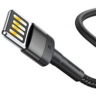 Baseus Cafule Lightning Cable Special Edition 2.4A 1M Gray+Black - Datový kabel