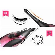 Elektronická řasenka BeautyRelax Brush&Go - Řasenka