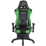 BHM Germany Turbo, černo-zelená - Herní židle