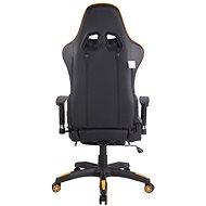 BHM Germany Turbo, černo-žlutá - Herní židle
