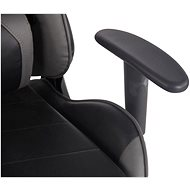 BHM Germany Turbo, černo-šedá - Herní židle