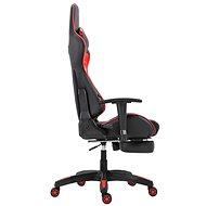 BHM Germany Turbo Lesk, černo-červená - Herní židle