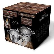 Blaumann Hrnec na těstoviny s cedící vložkou Gourmet Line 20cm - Hrnec