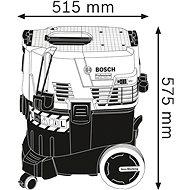 BOSCH GAS 35 L SFC+ - Průmyslový vysavač