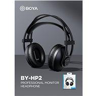 Boya BY-HP2 - Sluchátka