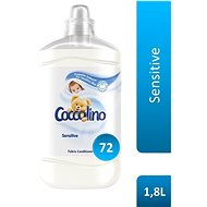 COCCOLINO Sensitive 6 × 1,8 l (432 praní) - Aviváž