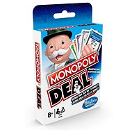 Monopoly nové CZ + Monopoly Deal - Společenská hra